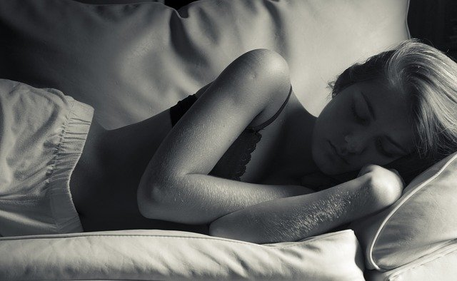spící slečna