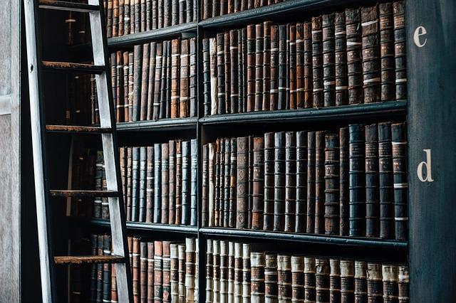 knihovna starých knih