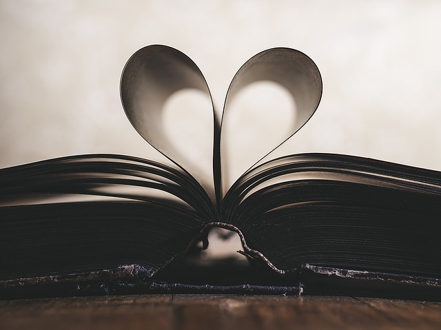 kniha se srdcem