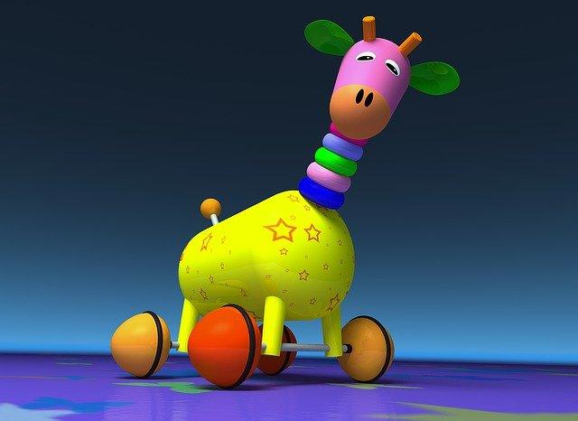 žirafa hračka
