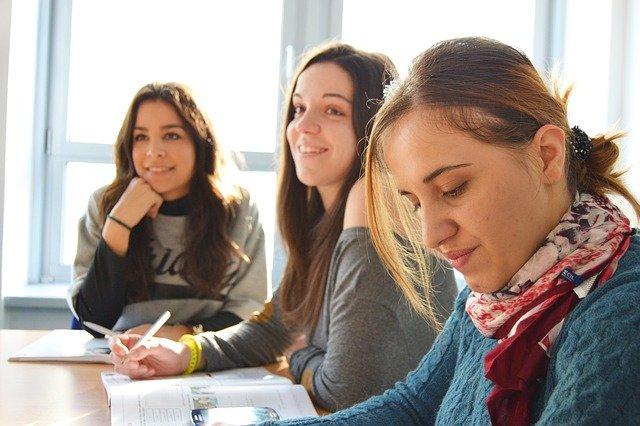studentky ve škole