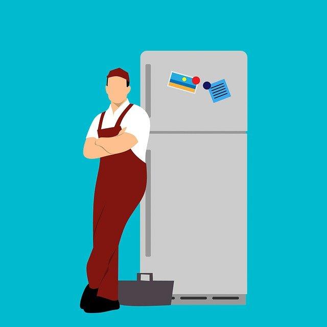 opravář u lednice
