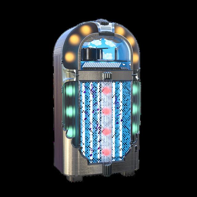 starý jukebox
