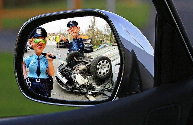 figurky policisté u nehody