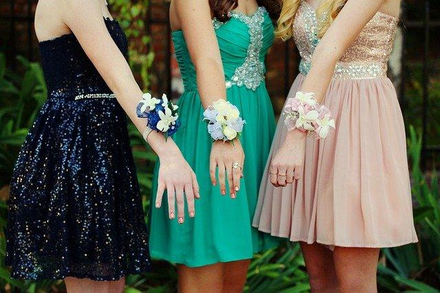 květiny na ples