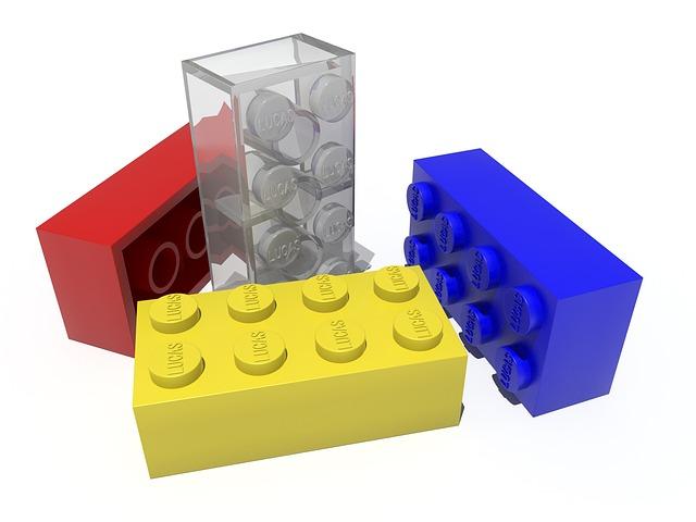 kostičky stavebnice