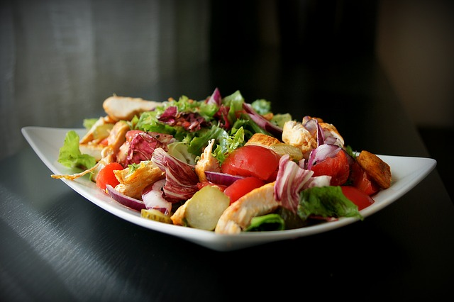 masozeleninový salát