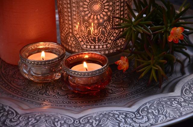 orientální svíčky
