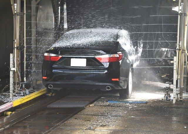 mytí auta