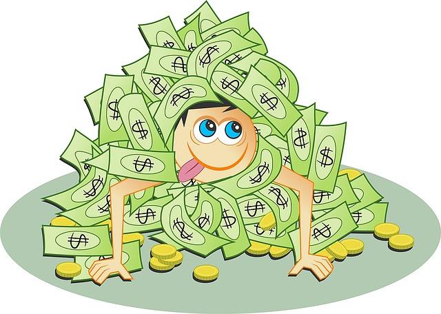 kopa peněz