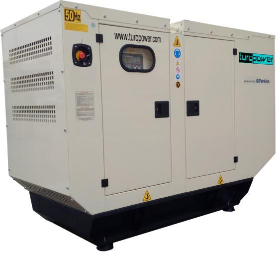 dieselový velký generátor