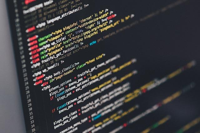programovací kód